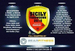 SICILY THROWDOWN