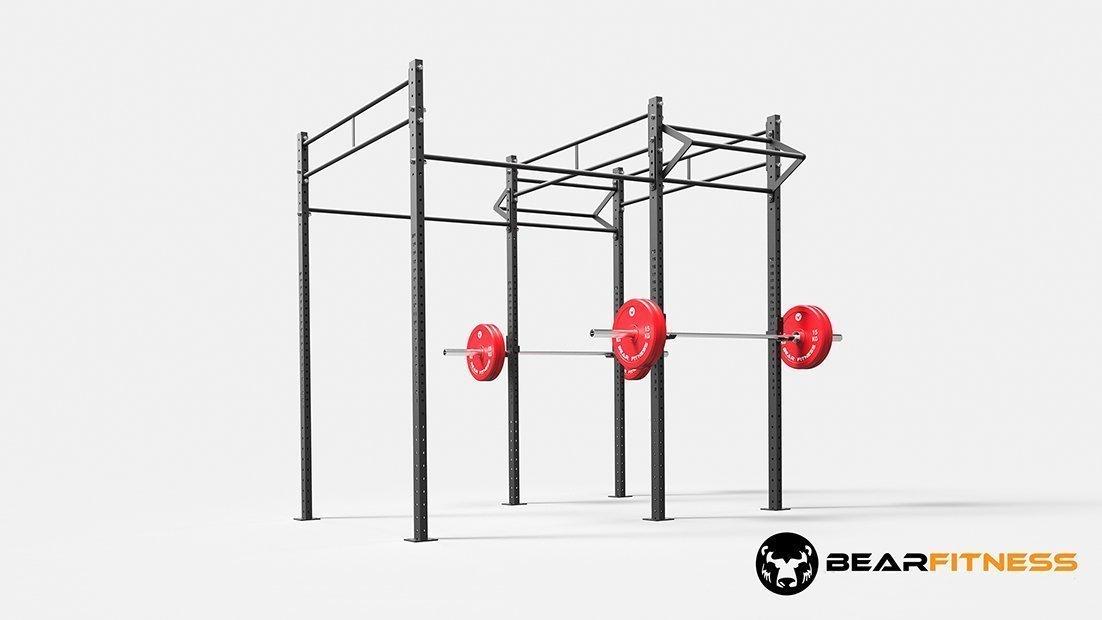 Floor rig t bar 100 170 bear fitness for 100 floors floor 1