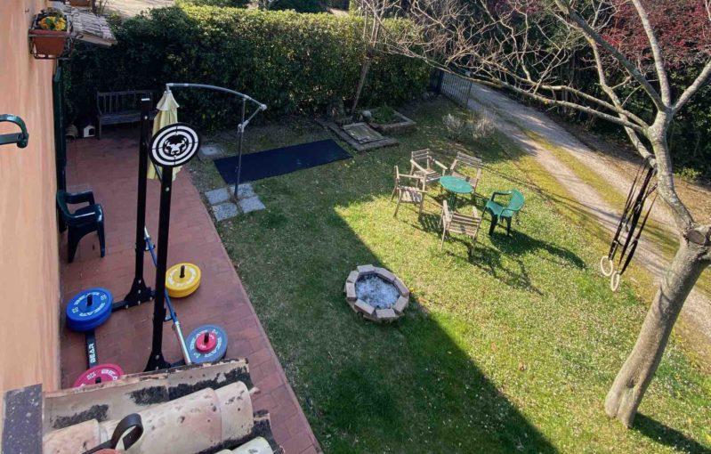 home gym palestra in giardino Bear Fitness