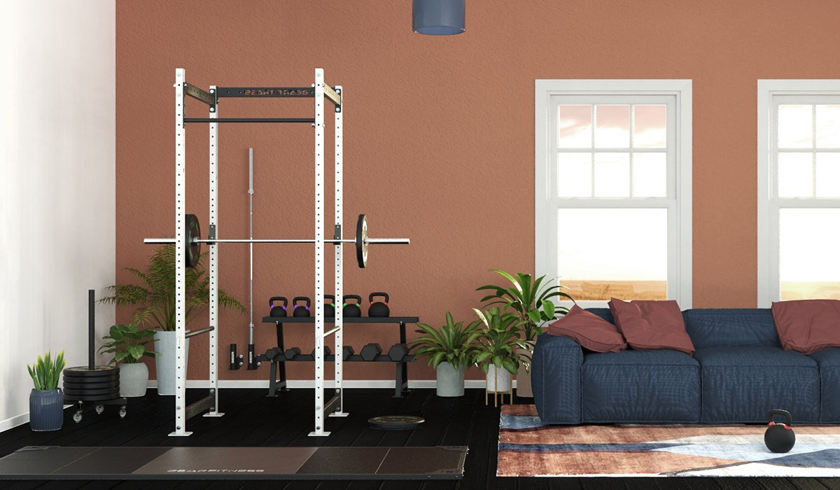 home gym salotto