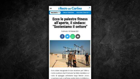 Fitness all'aperto a Civitanova: un nuovo modo di allenarsi.